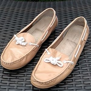 Cole Haan patent leather driving mocassins size 9